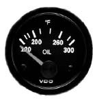 "0433 / VDO Oil Temperature 100-300 Degrees F 2-1/16"" diameter"